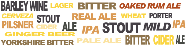 Web site header BEER
