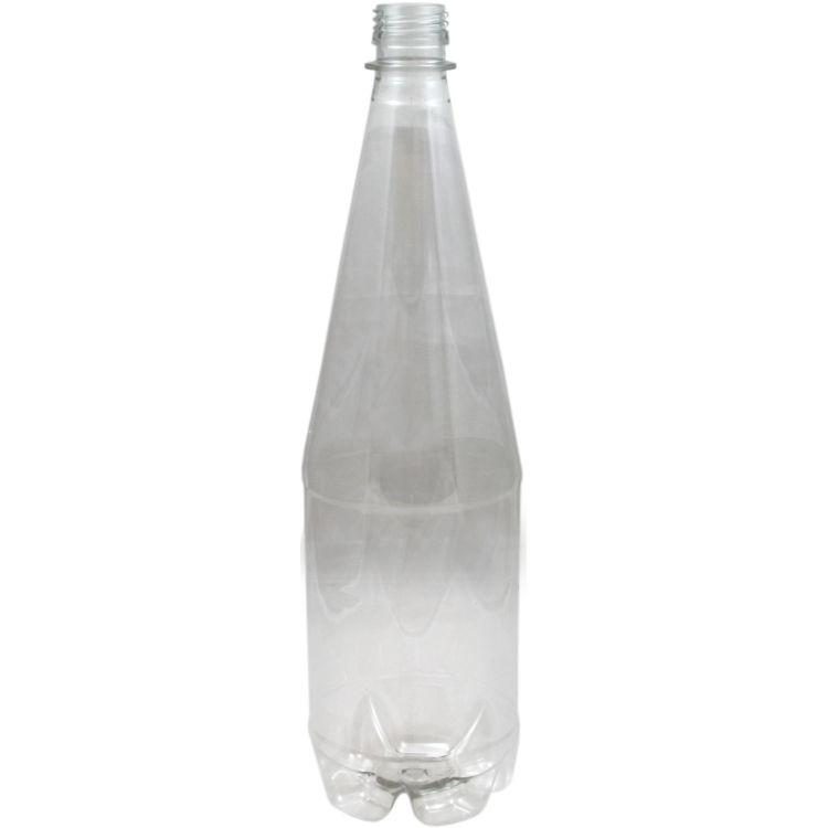 Bottles : PET Bottles 1 Litre Clear Carton (24)
