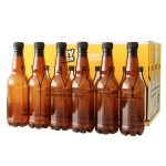 500 ml  Amber PET Beer Bottles (24) - Coopers